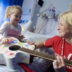 Child with ECHC Play Specialist