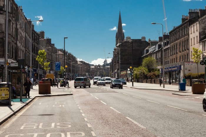 Leith Walk in Edinburgh - property PR
