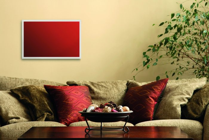 PR photogrpahy of an infranomic heating panel
