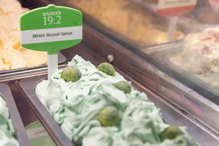 Mackie's 19.2's Minted Brussels Sprout Ice Cream - Food and Drink PR