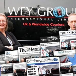 Eagle Couriers' Wey Group Media Success