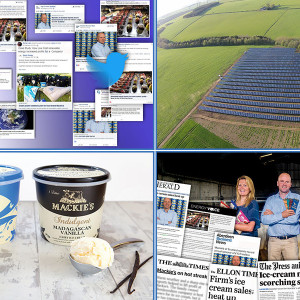 Traditional and digital coverage secured by food and drink PR agency for Mackie's of Scotland successful financial year