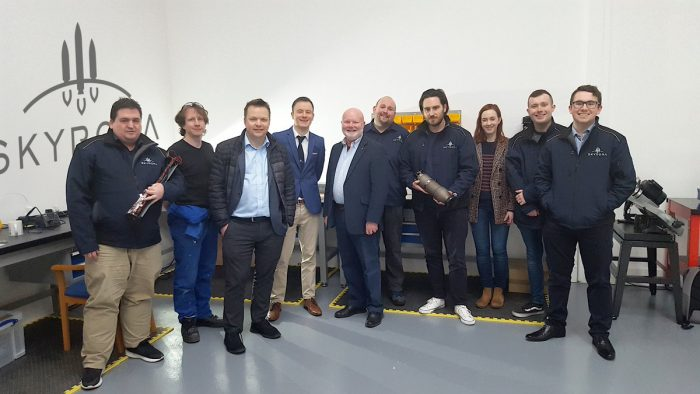 Colin Beattie, MSP for Midlothian North and Musselburgh, has visited Skyrora's cutting-edge production facility in Loanhead. Tech PR