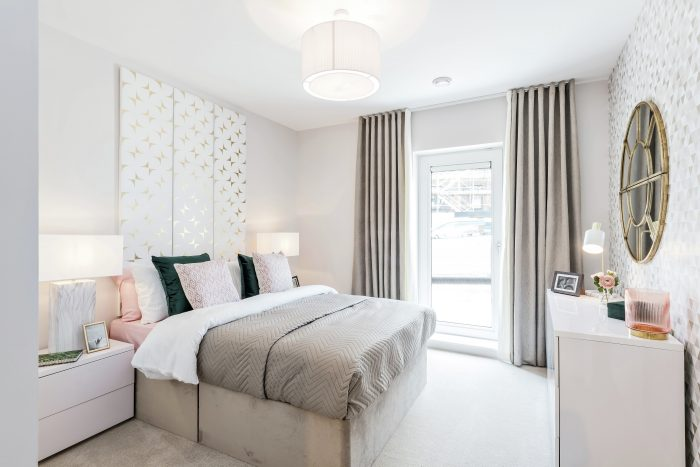 Property PR images give first look inside new show apartment at Waterfront Plaza development in Leith by CALA Homes (East)