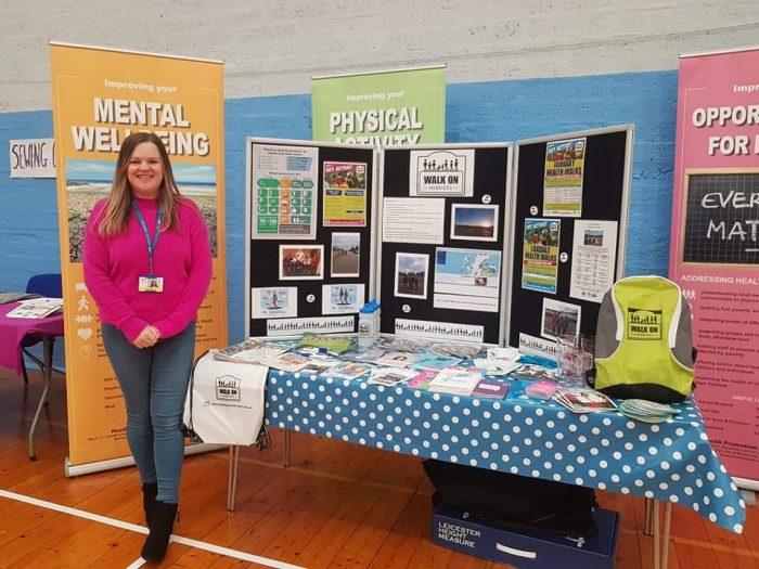 Charity PR photograph of Karen Peteranna Karen Peteranna of Walk on Hebrides