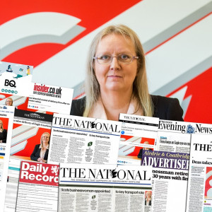 Media success as Eagle Couriers appoints sole director