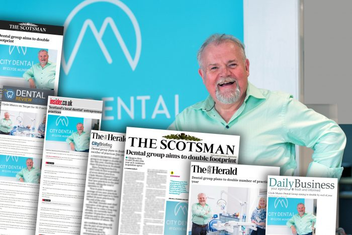 coverage achieved by dental PR experts, Holyrood PR on Clyde Munro's business growth