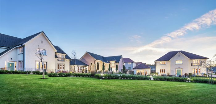 Three luxury showhomes hit the market in Balerno from award-winning CALA Homes (East). A property PR image and story