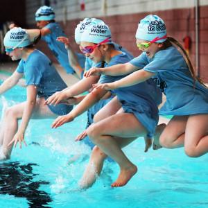 Olympics swim star makes waves in perth