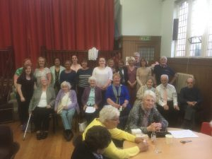 Property PR image shows Stirling Wellbeing Choir - recipient of Cairn community fund
