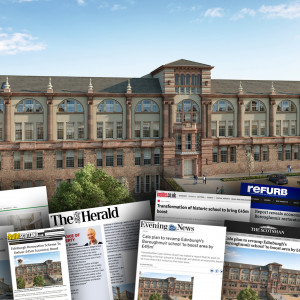 CALA's Boroughmuir restoration plans spark media success