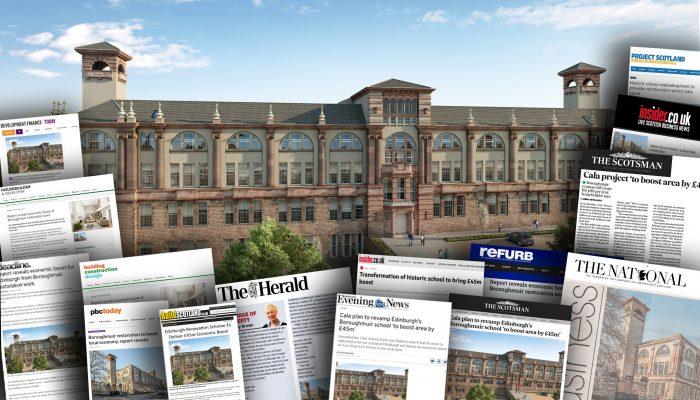 CALA's Boroughmuir restoration plans spark media success
