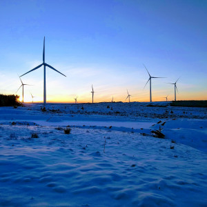 Photograph of Kype Muir Extension Wind Farm