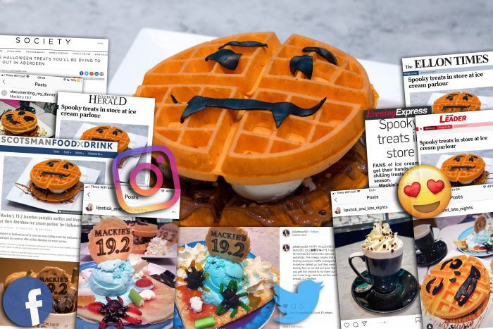 Spooktacular success for Mackie's 19.2 Parlour| Food and Drink PR
