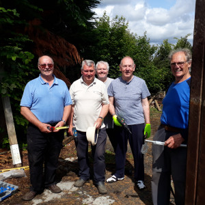 Pentlands Men's Shed in Currie Group Photo