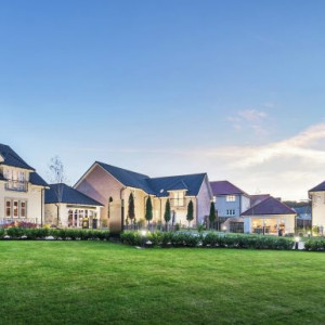Image showing large detached homes at Ravelrig Heights by CALA Homes (East)
