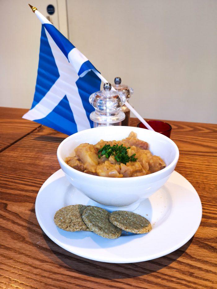 Edinburgh cafe's take on iconic Scottish stovies