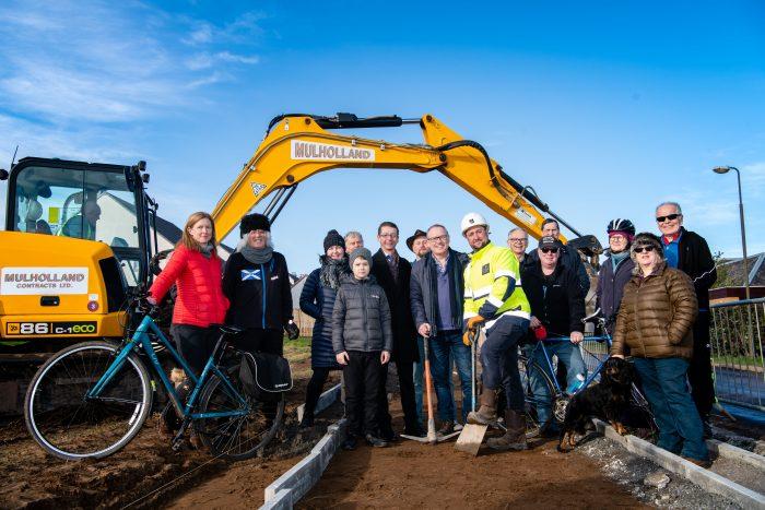 "Celebrations as ""first-stretch"" of Drem-Gullane path underway| Property PR"