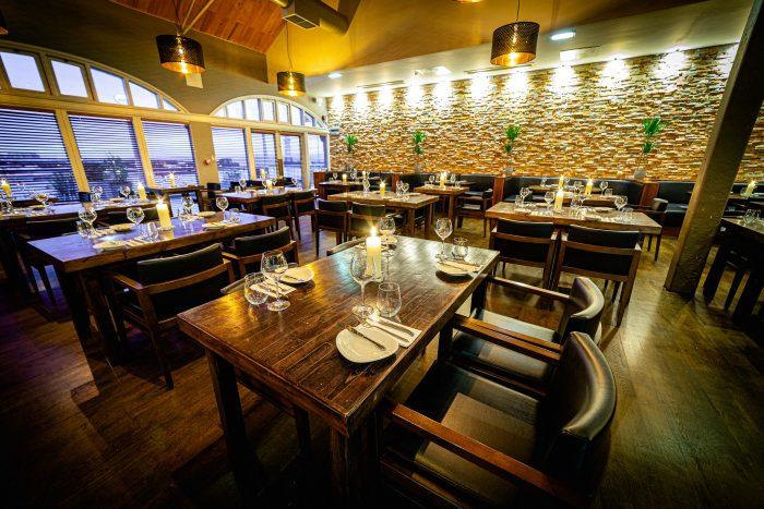 Restaurant interior of Pier Brasserie | Restaurant PR