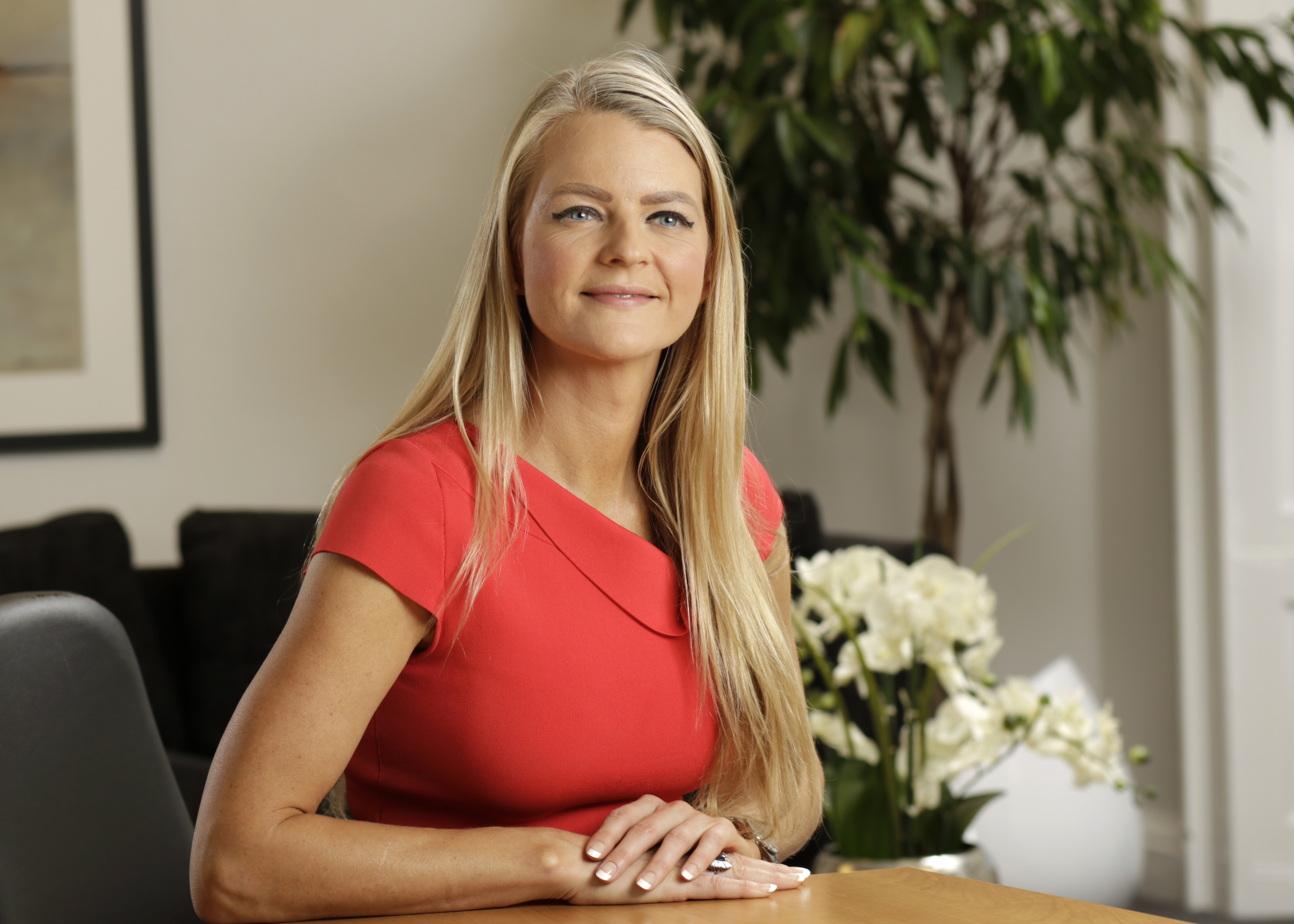 Betsy Williamson of Core-Asset Consulting, captured in PR photography