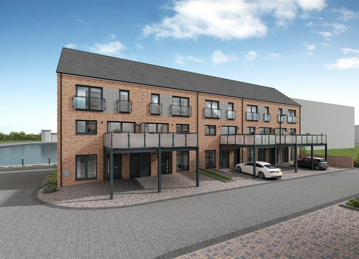 CGI image of a The Brae,showing an external look at The Braeby CALA Homes (East) | Property PR