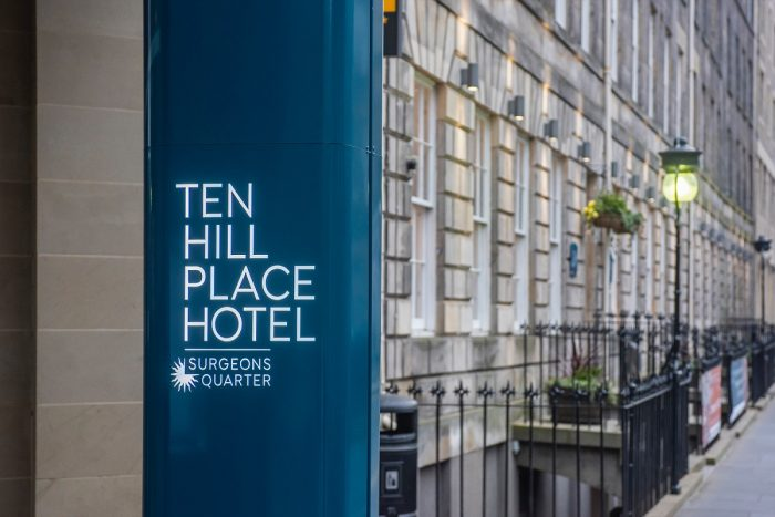 Hotel PR Photography of Ten Hill Place