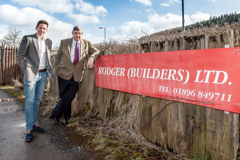 Local builder backs wind farm to
