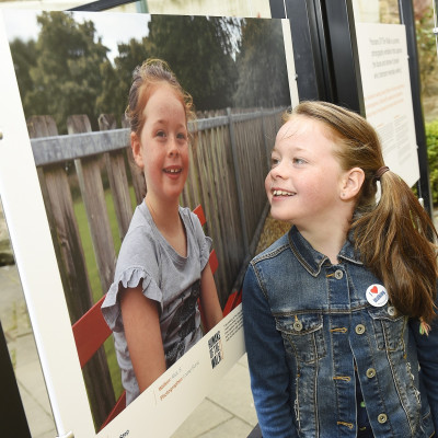 PR photography of Humans of the Walk exhibition launch