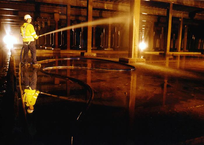 panton mcleod service reservoir clean