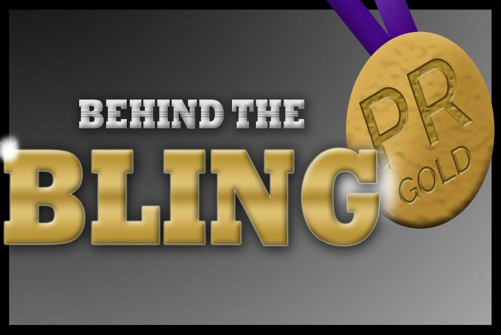 Behind the bling PR awards