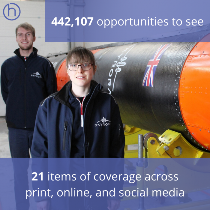 Edinburgh tech PR team delivered out of this world coverage on Skyrora's prestigious graduate placement programme