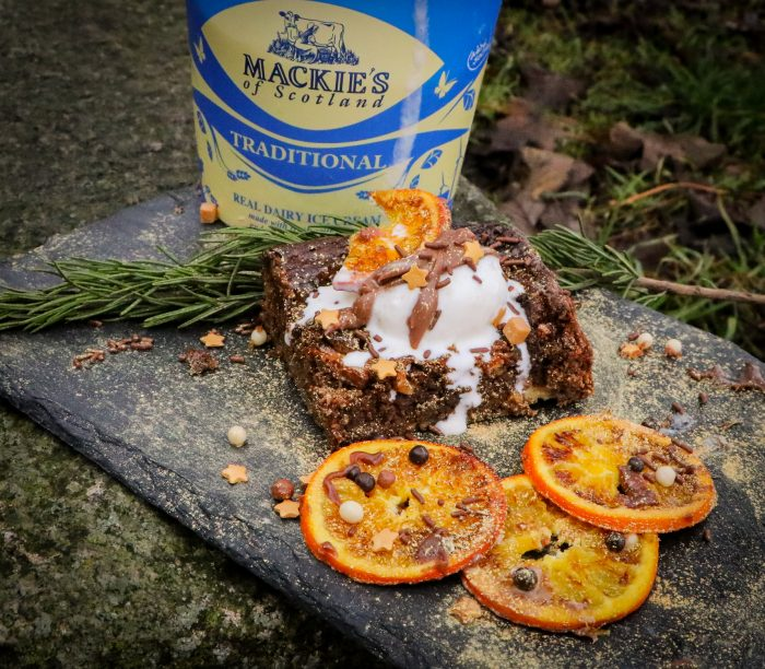 Digital pr photography about the success of the recipe collaboration between Mackie's of Scotland and influencer The Wee Larder