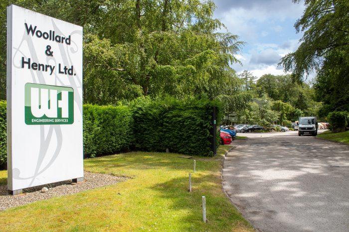 Scottish PR photography, W&H exterior, Ownership Associates.