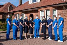Health PR photography, Dental team at Fairmilehead, Clyde Munro Dental Group.