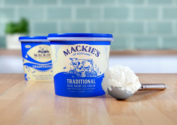 Food and Drink PR photography, New & Old traditional tub, Mackie's of Scotland.