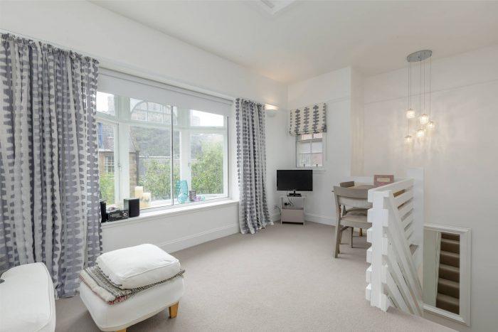 Property PR photography, Signal House Living Room, Simpson & Marwick.