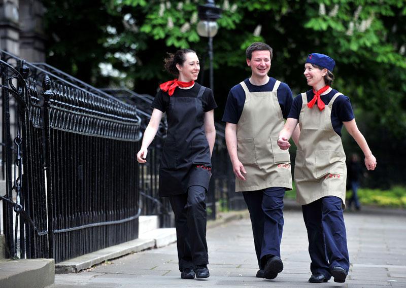 Public relations for Michelin star restaurant in Edinburgh, Scotland