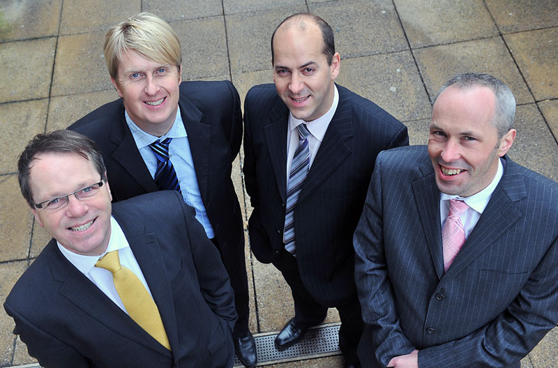 Four directors of Space Solutions