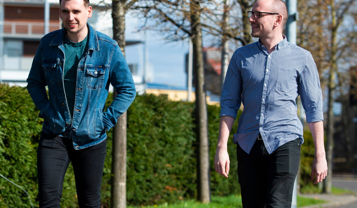Charity PR photography, Businesses Urged to Walk After Walking Challenge Success -Scottish PR