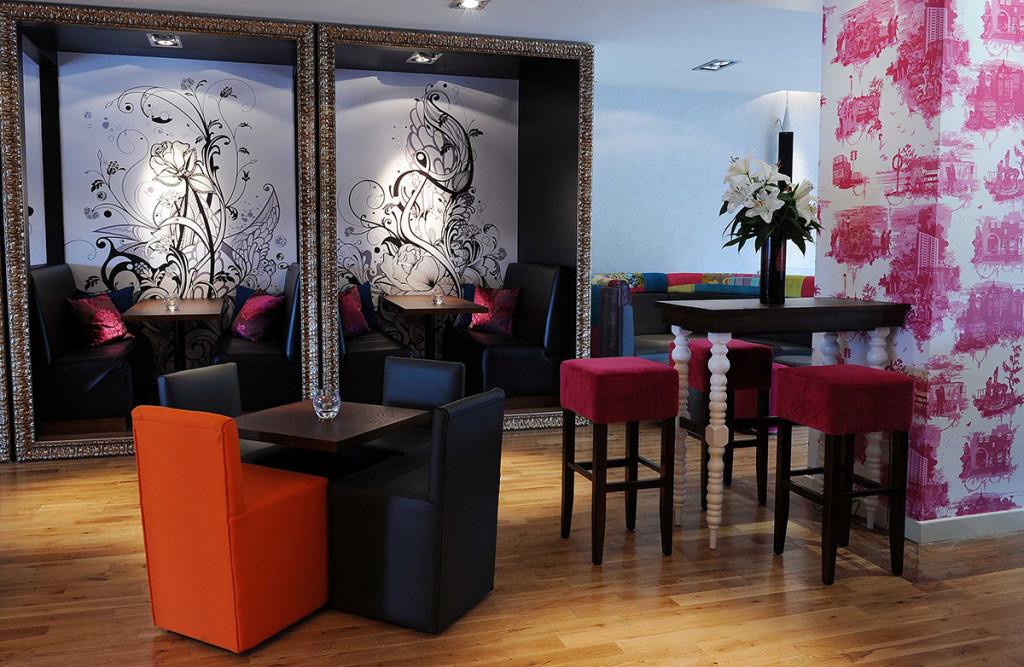 Interior design PR photos of Hyde Out style bar
