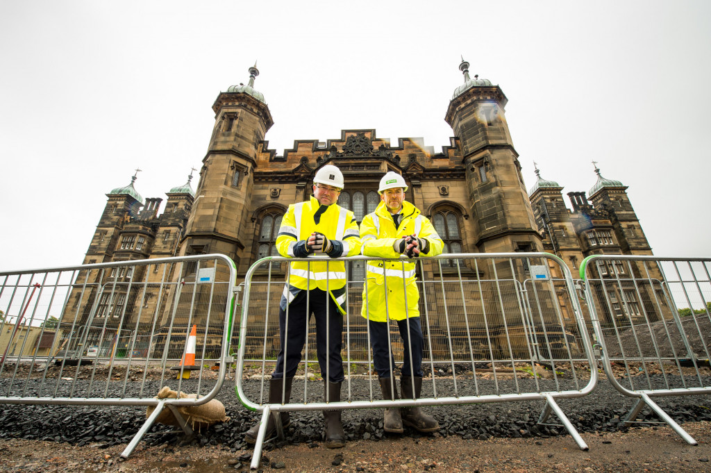 PR photography for CALA Homes at The Crescent in Edinburgh, Scotland
