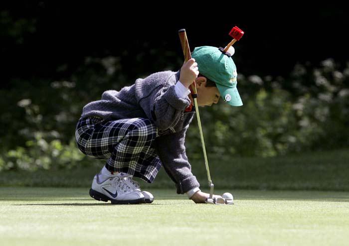 Edinburgh PR agency photographs for U.S. Kids Golf