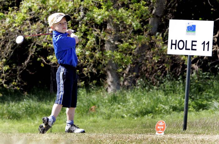 Public relations photos for U.S Kids Golf