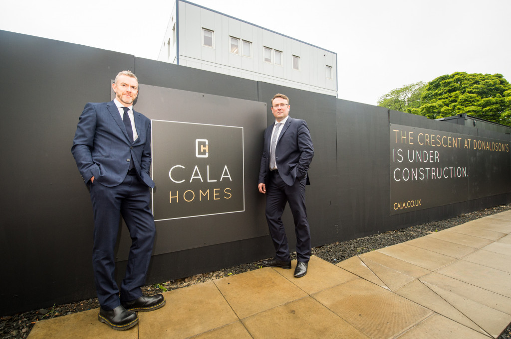 PR photography for CALA Homes at Donaldson's College in Edinburgh, Scotland