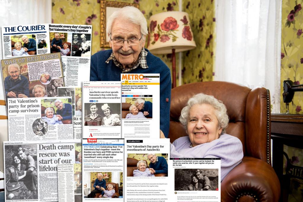 Valentine's Day Couple media montage