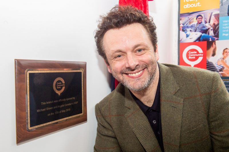PR Photography captures Michael Sheen's appearance in Leith
