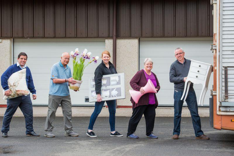 Claire McLoughlin, Lynne McNicoll,  Ian McNicoll, Keith Robertson and Stewart Ferguson