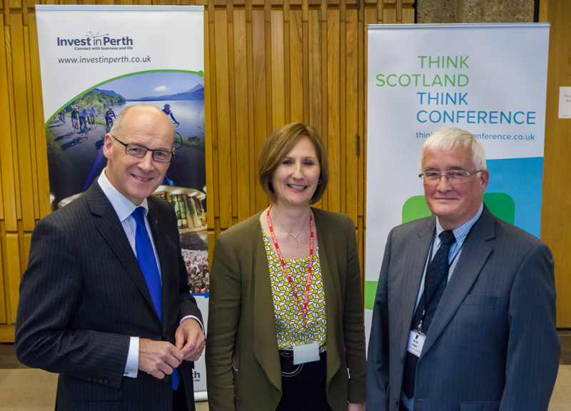'Think Scotland, Think Conference' Event in Perth rallies local