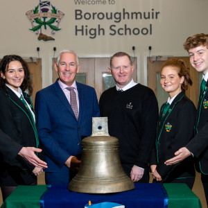 Housebuilder Arrives with Bells On at Boroughmuir