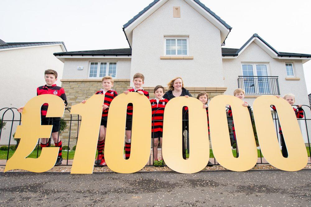 Property PR photograph for CALA £10,000 bursary grant in North Berwick